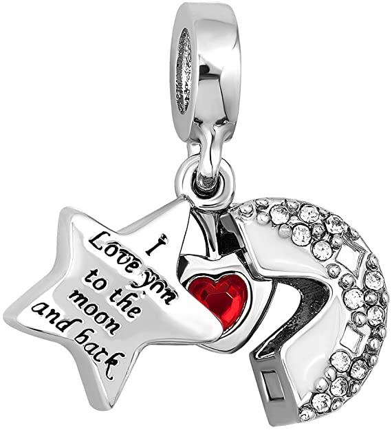 Pandora I Love You To The Moon And Back Star Charm Cajewels Com
